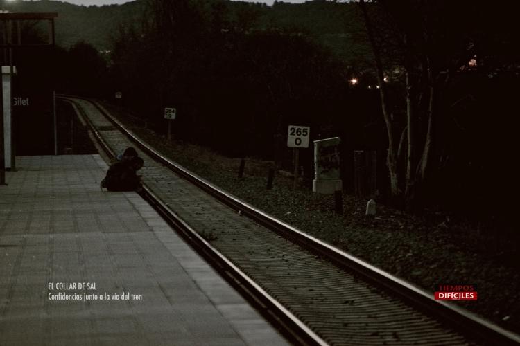 Confidencias en la vía del tren